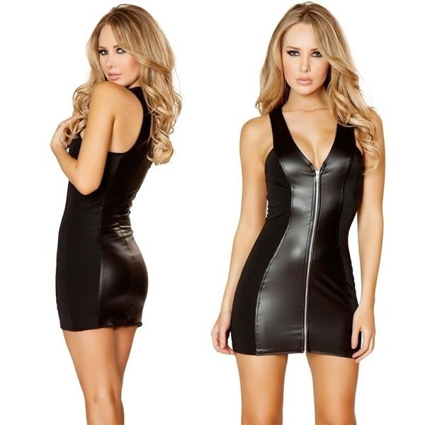 be5ddb3e7acd Clubwear latexové šaty