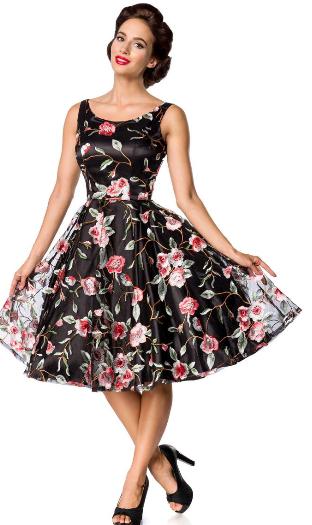 882b4b39a241 Belsira Premium Vintage šaty-Vintage kvetinové šaty empty